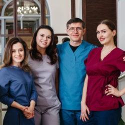 Смена бренда и адреса стоматологии