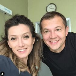 Стоматолог Диана Левчук и актёр Алексей Фатеев