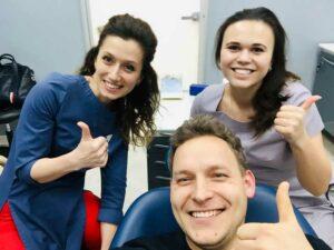фото с пациентом стоматологии